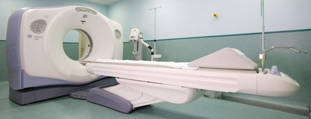 Компьютерный томограф закрытого типа